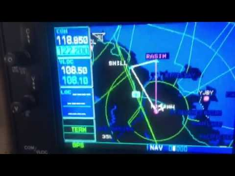 Garmin G5 first flight trial