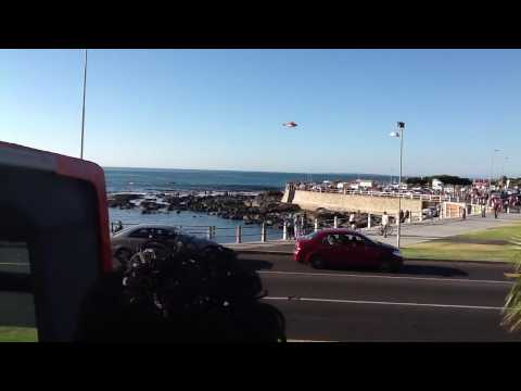 GREAT SHARK ATTACK A WOMAN Cape Town