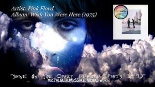 Shine On You Crazy Diamond Parts 1-9 - Pink Floyd (1975) HQ Audio HD Video
