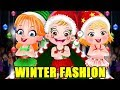 Baby Hazel Winter Fashion Show | Fun Game Videos By Baby Hazel Games