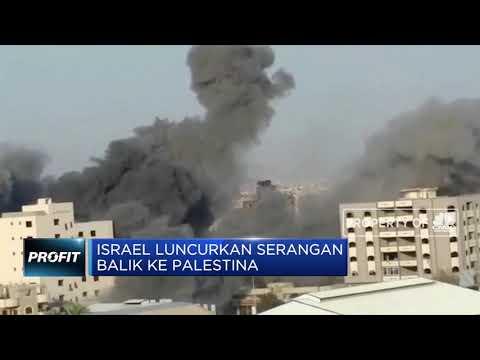 Israel Luncurkan Serangan Balik Ke Palestina
