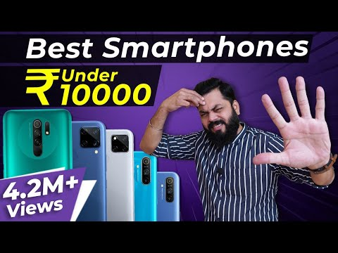 Top 5 Best Mobile Phones Under ₹10000 Budget ⚡⚡⚡ August 2020