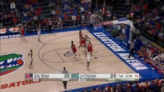 Florida vs Ole Miss Basketball Highlights 1-3-17