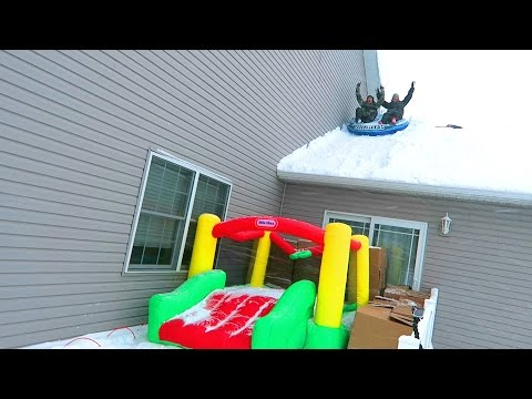 INSANE SLEDDING FAILS!!