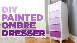 DIY Painted Ombre Dresser - Easy Room Decor - HGTV