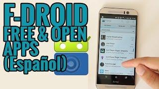 F-Droid, apps de código abierto para Android