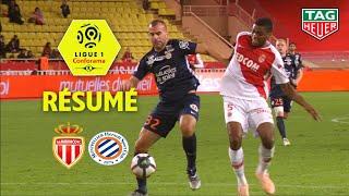 AS Monaco - Montpellier Hérault SC ( 1-2 ) - Résumé - (ASM - MHSC) / 2018-19