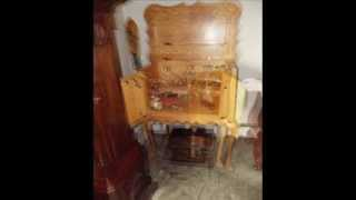 Chippendale Style Liquor Cabinet - Item 107