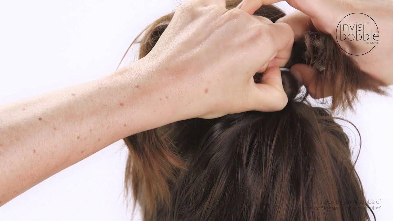 Frisuren Tutorial Bow Bun Oder Die Schleife Aus Haaren