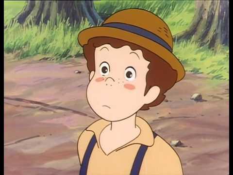 Приключения Тома Сойера (5 серия)Маленькая девочка по имени Бэкки