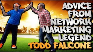 25 YEAR NETWORK MARKETING LEGEND TODD FALCONE INTERVIEW | Chris Record Vlogs 119
