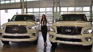 WALKAROUND: INFINITI QX80 - 2017 vs. 2018