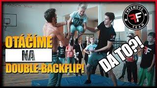 jak se naučit double backflip   freemove
