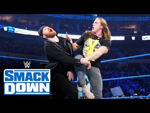 Keith Lee and Matt Riddle deliver pain to Sami Zayn: SmackDown, Nov. 1, 2019