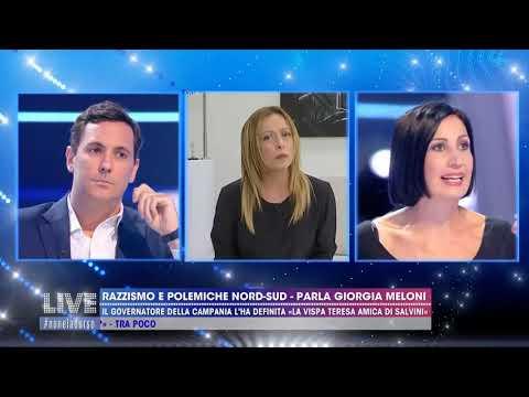 L'intervista di Giorgia Meloni a Live-Non è la D'Urso su Canale 5. Da non perdere!
