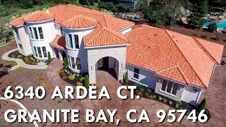 6340 Ardea Ct, Granite Bay, CA 95746 YouTube Videos