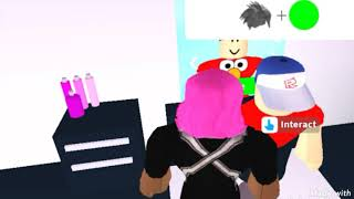 Dad of 2 daughter and son (part 1) daughter sick routine | Roblox Roleplay Story