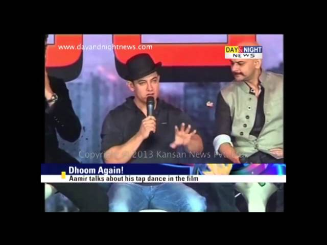 'Dhoom 3' promotions at Yashraj Studio | Aamir Khan | Abhishek | Katrina Kaif Travel Video