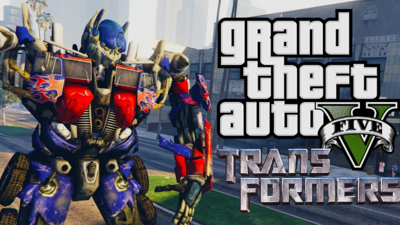 Transformers Mod Gta  Mod Moment Lucu Bahasa Indonesia
