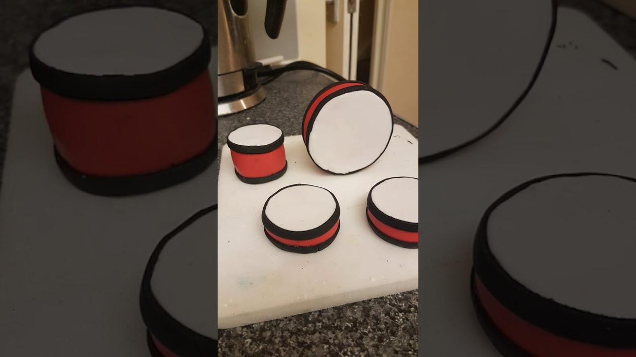 Drum Set Birthday CakeStemmacCakes