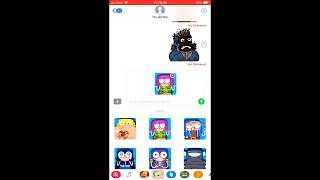 New Update Clash a rama and Clash Theator stickers for IPHONE(imessege).|clash of clans