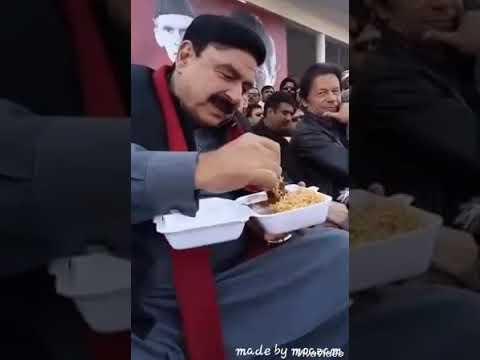 Sheikh rasheed funny video with imran khan hahaha