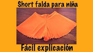 SHORT FALDA CIRCULAR
