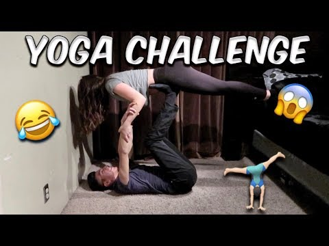couple yoga challenge  youtube