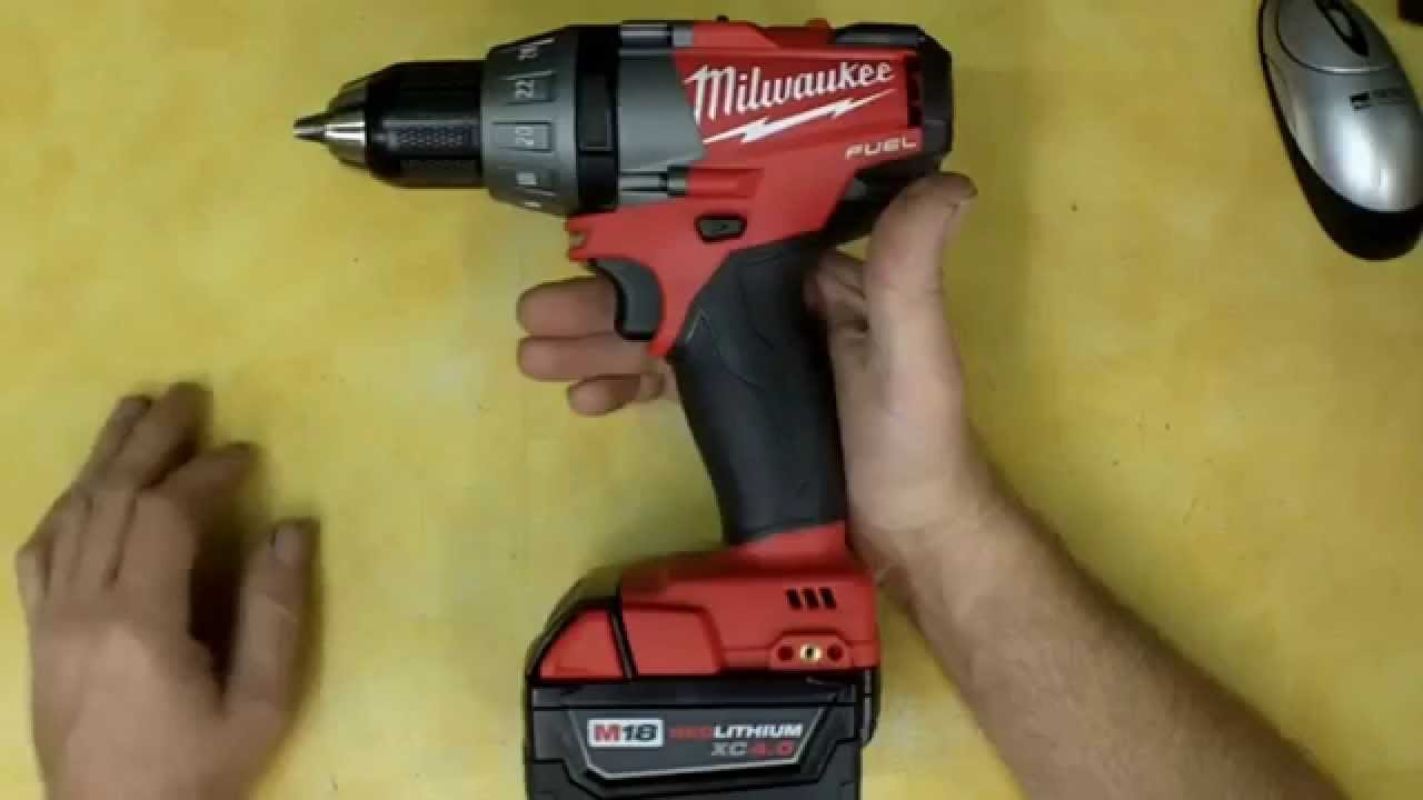 Milwaukee M18 Fuel Brushless Cordless Drill Review Model ...