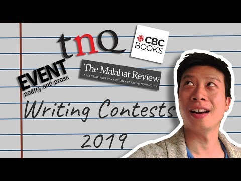 10 Canadian Writing Contests In 2019