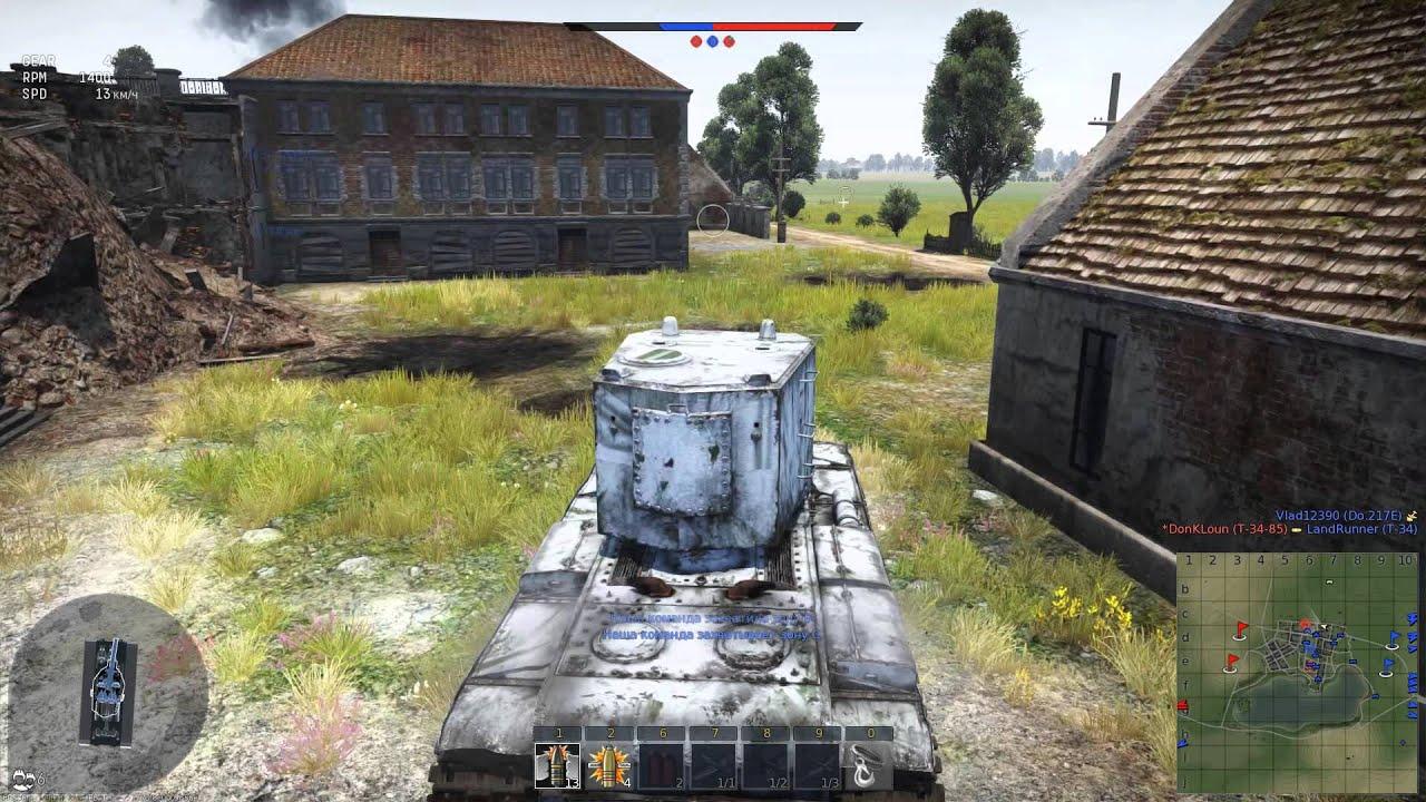 видео вар тандер прохождение танки