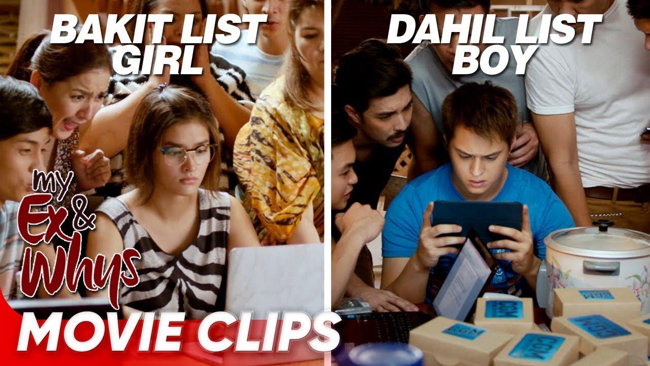 Download Ang mainit na sagutan nina 'Bakit List Girl' and 'Dahil List' Boy! | 'My Ex and Whys' | Movie Clips