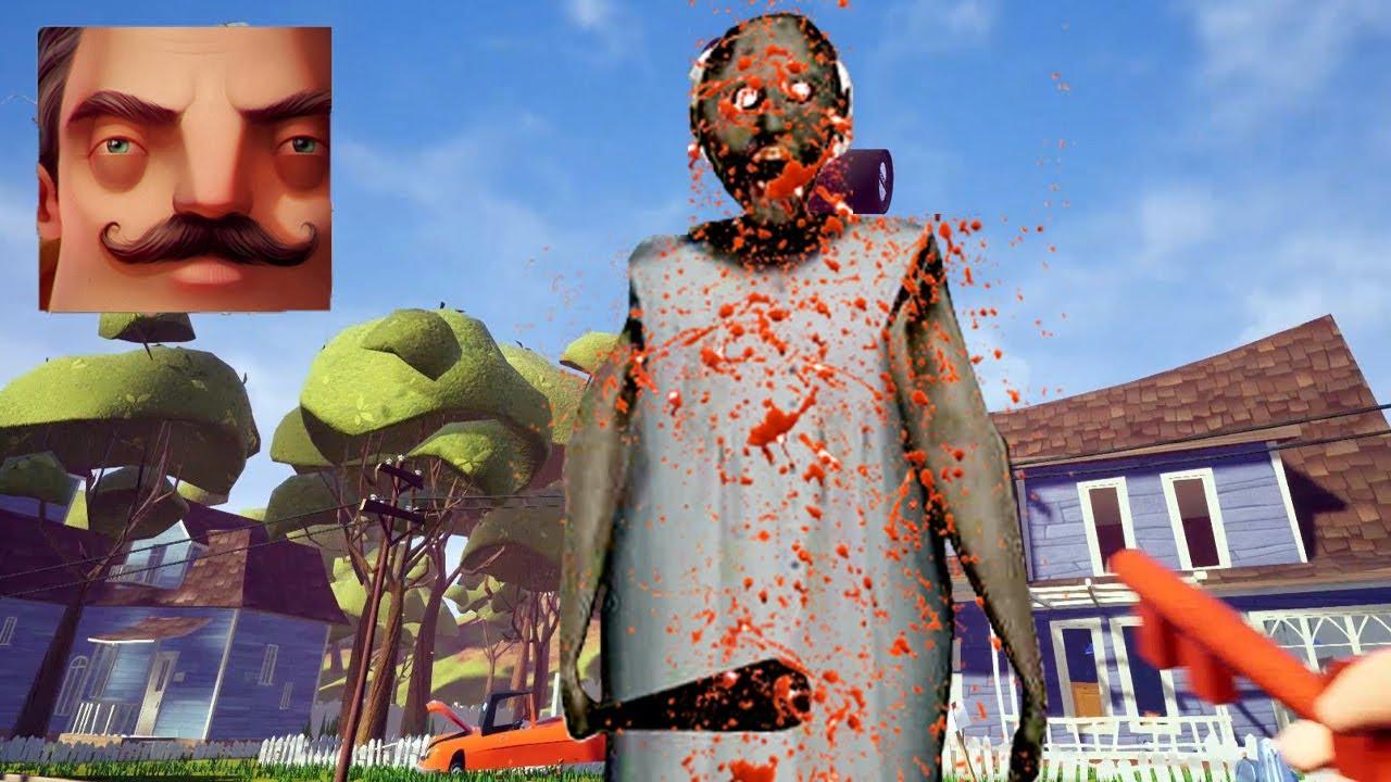 Hello Neighbor - My New Neighbor Granny.EXE Act 1 Gameplay Walkthrough