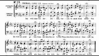 Bach BWV 244-23 Ich will hier bei dir stehen