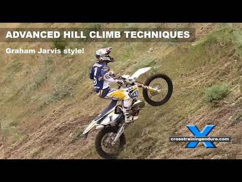 HOW TO DO ADVANCED HILL CLIMBS GRAHAM JARVIS-STYLE! Cross Training Enduro