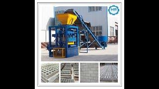 QT4-24 block making machine Ligne de production de blocs Machine de bloc de ciment sri lanka