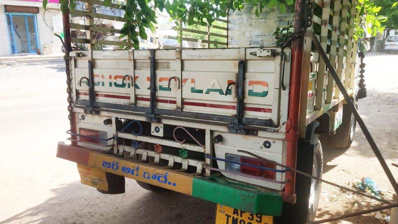 Ashok leyland Back door bent | #dentrepair #badadost