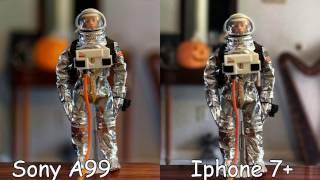iphone 7 plus vs dslr sony a99v