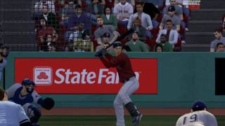 mlb 2k9 pc gameplay Rangers VS Red Sox HD