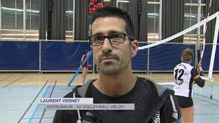 Volley-ball : Vélizy toujours en tête de Nationale 3