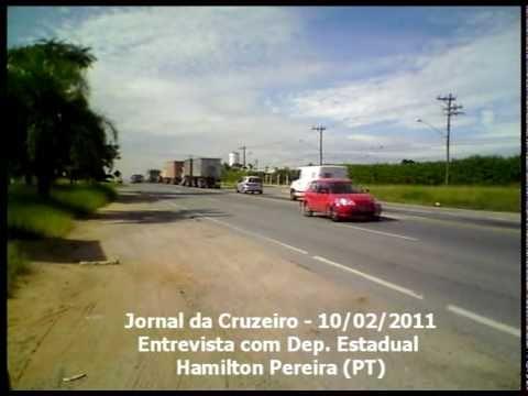 Cruzeiro FM - Entrevista com Dep. Hamilton Pereira...