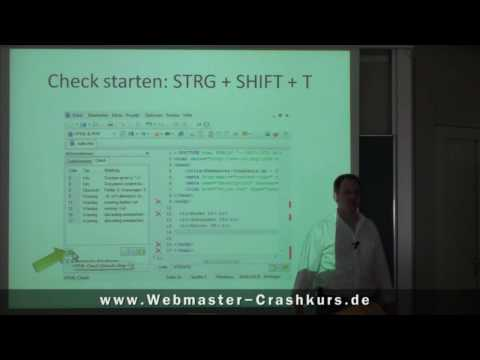 HTML Validieren Mit HTML-Editor Scriptly