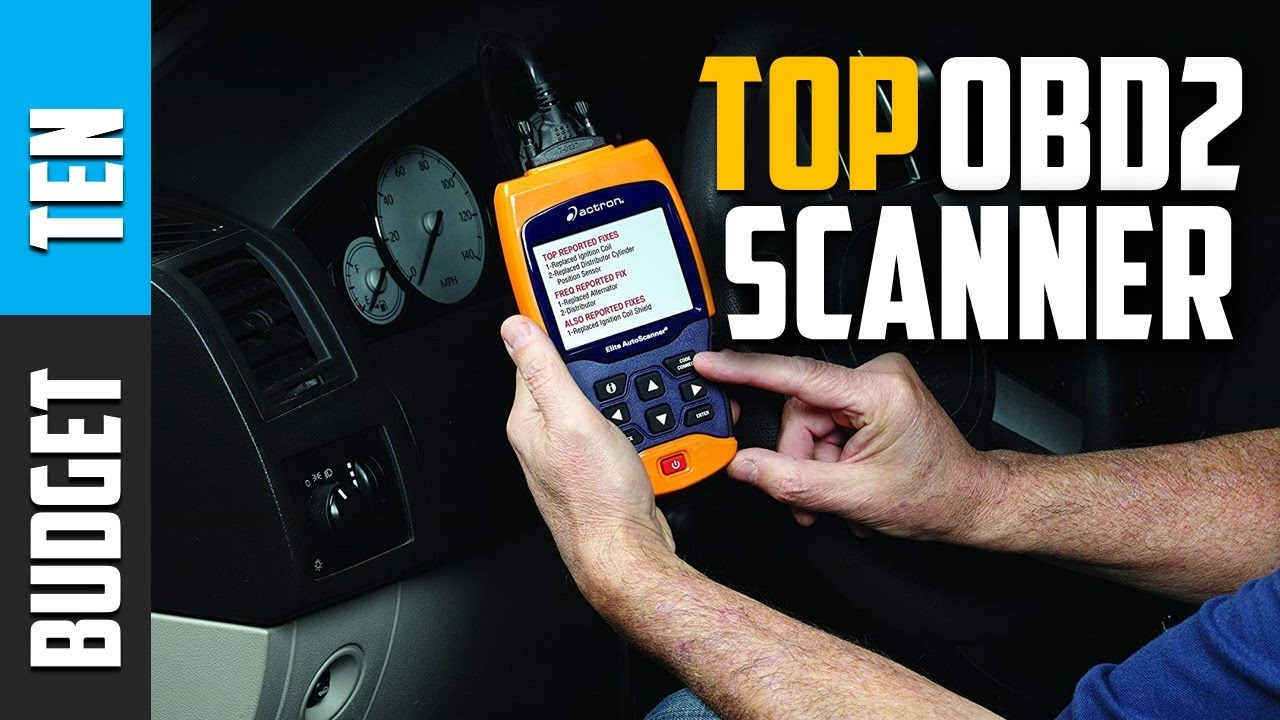 Best OBD2 Scanner 2019 - Budget Ten Reads ABS, SRS, Airbag
