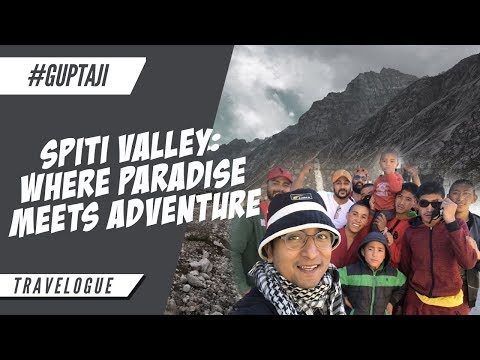 Spiti Valley: Where Paradise Meets Adventure - Movie -Appurv Gupta-GuptaJi-Indian Stand Up Comedian