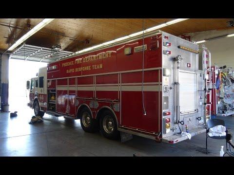 Phoenix Fire Department Station 44 (Engine & Squad; pictures) [AZ | 6/2015]