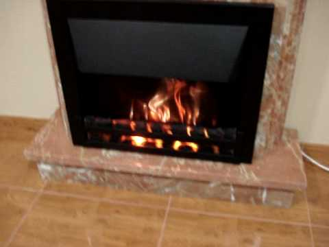 Chimenea electrica volcan de ambifuego youtube - Chimeneas artificiales decorativas ...
