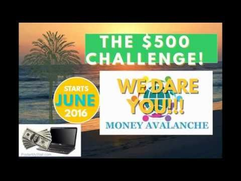 TAKE THE $500 CHALLENGE NOW!!!
