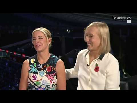 Chris Evert and Martina Navratilova look back on their legendary ...