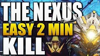 Destiny - EASY NEXUS NIGHTFALL GLITCH KILL IN 3 MINS (28/10/14)  (Destiny Glitches)