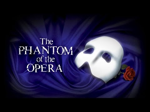 PHANTOM OF THE OPERA - Wishing You Were Somehow Here Again (KARAOKE) - Lyrics on screen